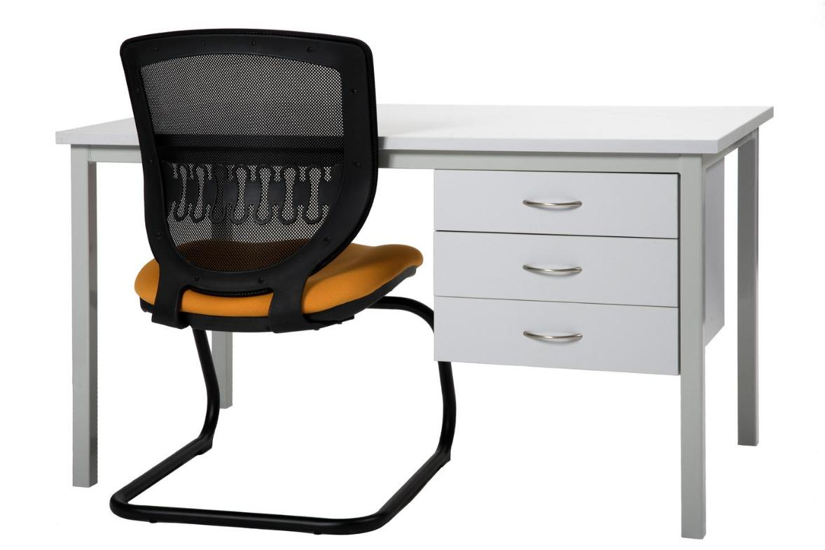 Flex commercial task chair with College desk